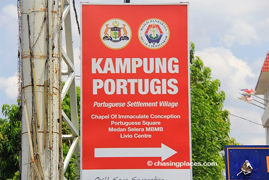 Portuguese tourists might want to check out the Settlement while in Melaka