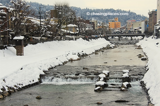 Takayama is a pleasant city for a stroll