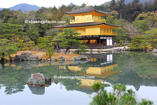 The ever impressive Kinkaku ji Temple in Kyoto, Japan