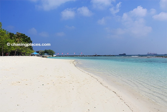Who would have thought that such pristine beaches were so close to the capital city