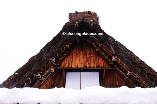 A gassho style roof, Shirakawa-go,-Japan