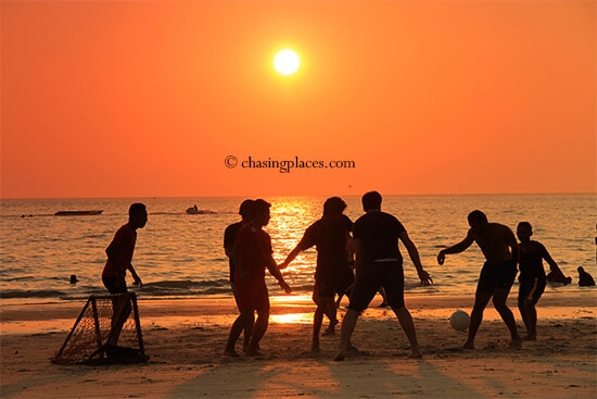 Be prepared for spectacular sunsets on Pantai Cenang