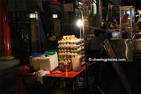 Get ready for some traditional snacks at the Jonker Walk Night Market, Melaka
