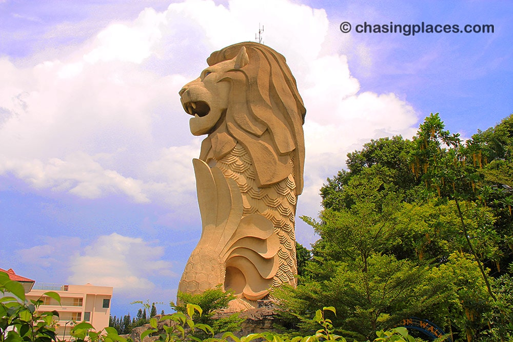 How to get to Sentosa Island via Public Transport | Chasing
