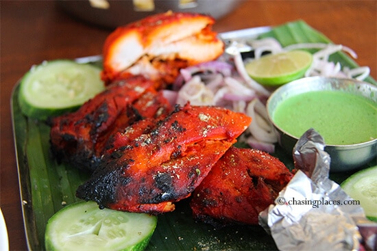 A delicious serving of tandoori chicken, Little, India, Kuala Lumpur