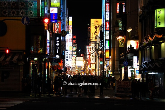 Get ready for an action packed, neon adventure in Dotonbori, Osaka, Japan