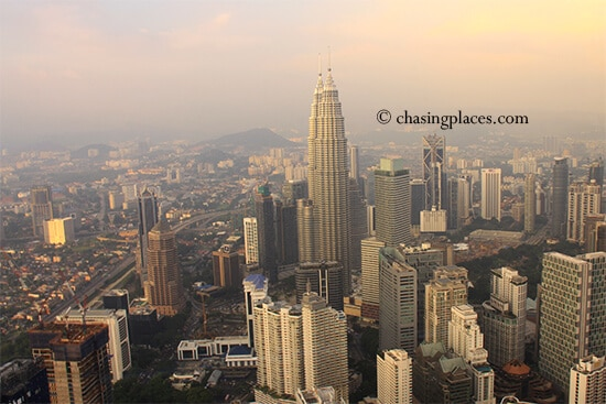 Kuala Lumpur, from the top of KL Tower