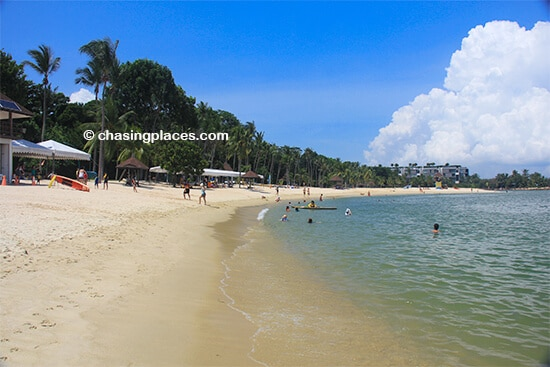 Tanjong Beach during a public holiday