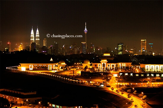 The KL Skyline from Sri-Hartamas, with special thanks to Lauren W.