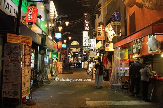 Wander the fascinating streets of Osaka's Minami area