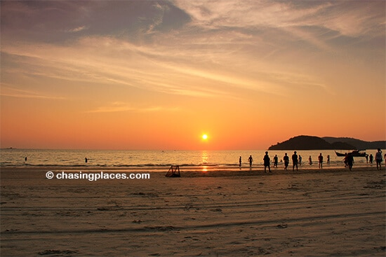 Be prepared for world class sunsets on Pantai Cenang,-Langkawi, Malaysia
