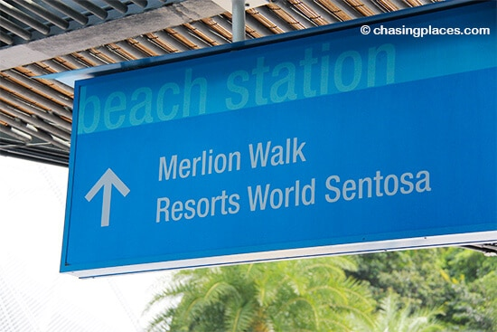 Beach Station is one of the most exciting areas on Sentosa Island