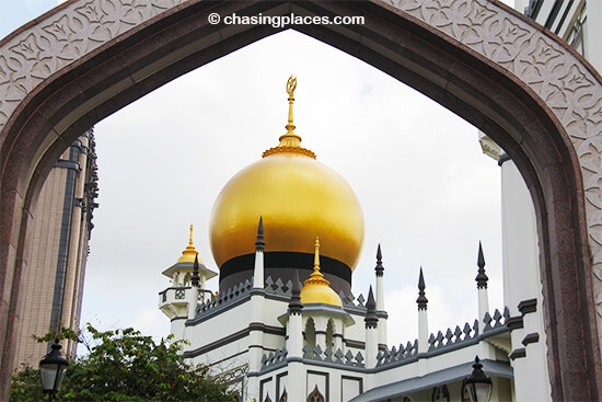 The Sultan's Mosque, Kampung Glam, Singapore