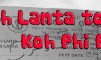 How to get from Koh Lanta to Koh Phi Phi