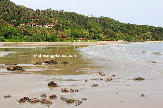 A glimpse of the southern end of Kantiang Bay, Koh Lanta