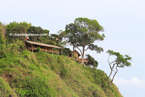 A scenic viewpoint restaurant overlooking Kantiang Bay