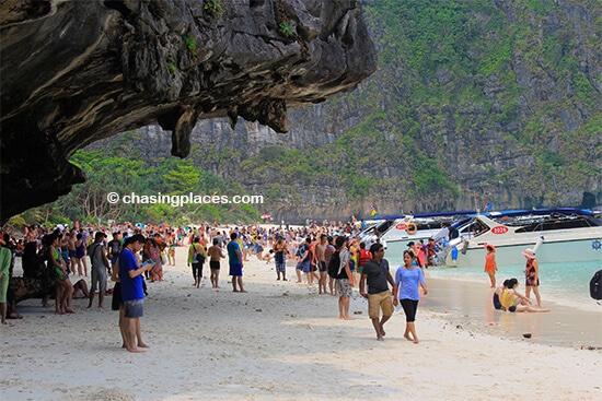 The Beach at Maya Bay, Koh Phi Phi Leh