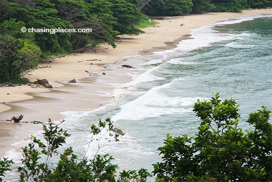 The southern beaches on Koh Lanta are often empty despite their beauty