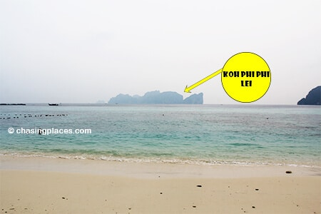 You Will Get A Direct View Of Koh Phi Lei From Long Beach