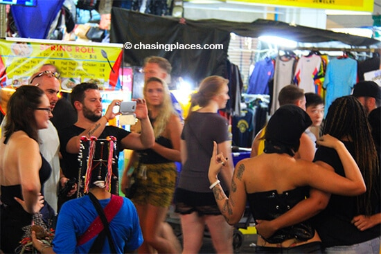 Khao San could be the most mulitcultural street in Southeast Asia