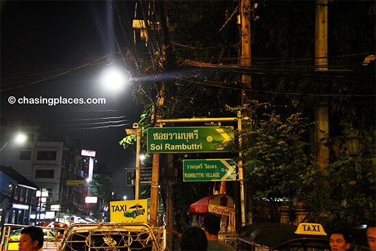 Soi Rambuttri is a perfect place for backpackers to chill out in Bangkok