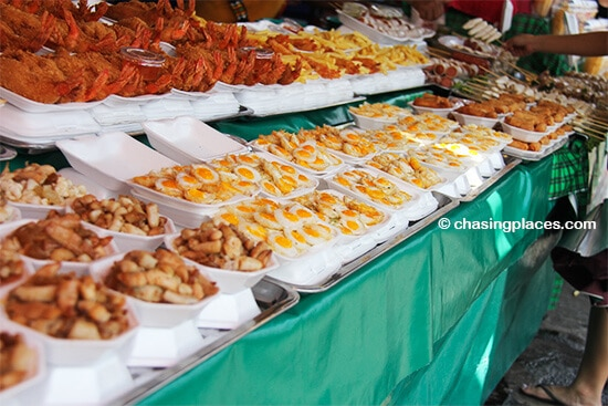 They will try to sell any kind of food at Chatuchak