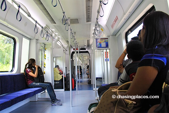 Kuala Lumpur's metro system has some new trains to make your ride more comfortable