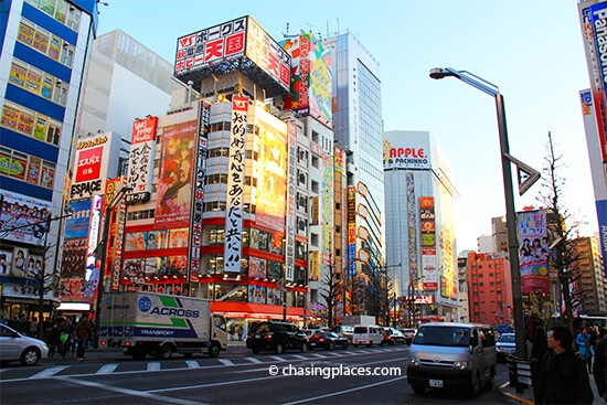 Akihabara's streets have no shortage of detail to check out
