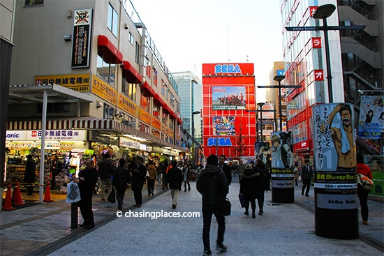 Taking a stroll through Akihabara, Toyko's Anime District