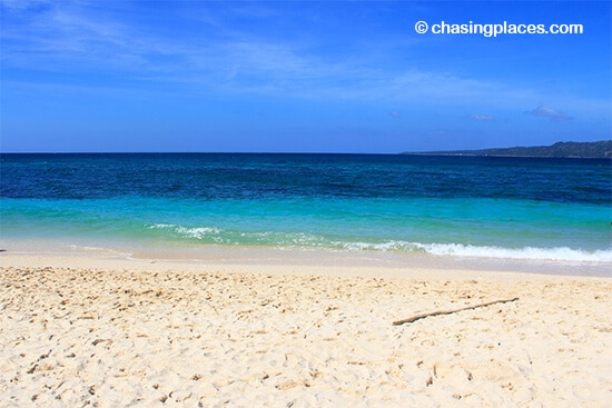 An unobstructed view from Puka Shell Beach, Boracay