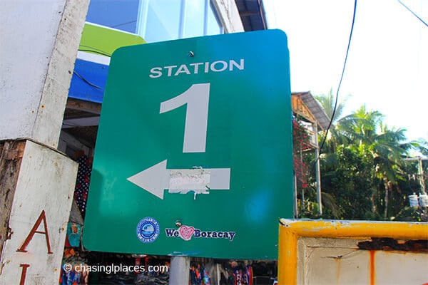 Boat Station 1 is the most luxurious section of White Beach, Boracay