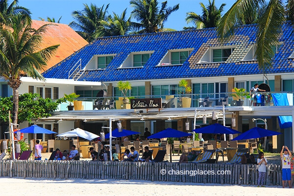 White Beach has a healthy selection of new resorts to choose from.