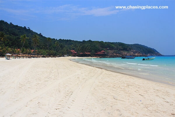 One section of Pulau Redang Malaysia