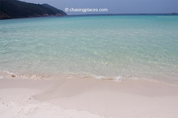 The Taaras Beach & Spa Resort is blessed with spectacular clear water.