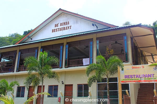 We stayed at De Rimba, a budget resort on Pulau Redang.