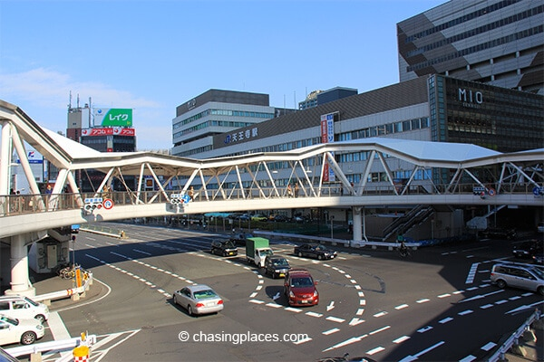 Osaka's railway infrastructure is top notched