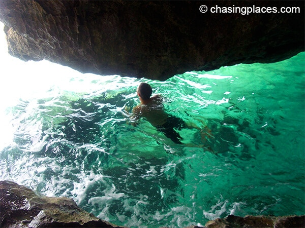 Take a dip during your tour around Boracay.