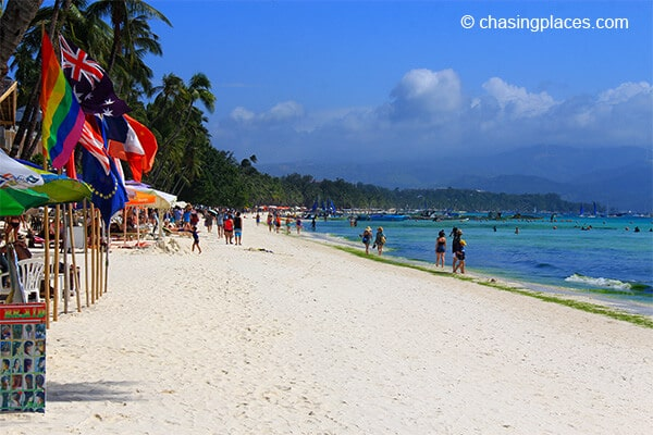 Hannah Hotel is located about 200 meters from Boracay's famous white beach