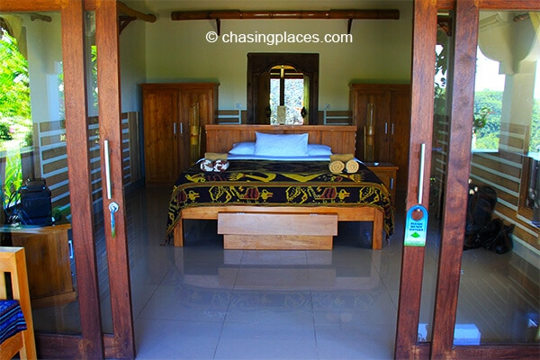 Rnjani lodges rooms are very clean and well-designed
